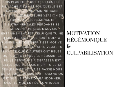 La motivation hégémonique